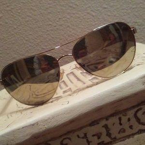 """Kate Spade """"Blossom"""" Gold Aviator Sunglasses NWT!"""